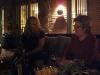 Katarina och Anne-Marie diskuterar något...