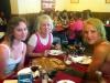 Vi fick en god lunch på CasaCamu.