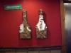 Dom fula korkförvaringsflaskorna kommer från Sverige, även de passade in i restaurangen.