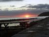Solnedgång över Mölle.
