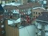 Från fönstret ser jag även gatan där jag kommer bo om 3 veckor, ca 10 minuters promenad söder ut (till höger).