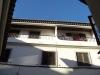 Vårt olagliga tillbygge, balkongen till vänster är fortfarande kvar efter så många år. Ja där ser man!