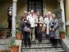 Utanför Museo Sorrolla 27 oktober.