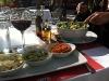 Nytt besök från Sverige, vi äter lunch ute. 31 oktober.