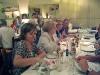 Vi var ett trettiotal skandinaver som samlades på restaurante Collage.