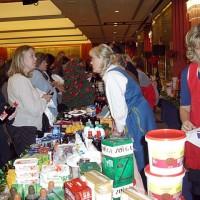 Skandinaviska matvaror på basaren