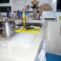 Köket ser ut som en katastrof...