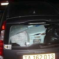 Strax efter kl 19 har Åsa lastat bilen full för andra gången...