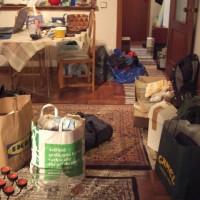 I nya lägenheten finns en hel del att pilla med också, dock utan stress...