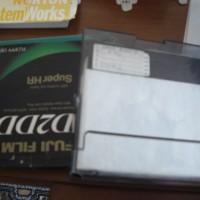 Gamla floppy discs åker i soporna