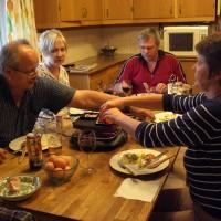 Middag med allmänna funderingar