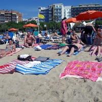 Första dagen på playan