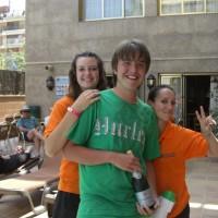Vi vann en flaska cava i en huvudstads quiz på hotellet