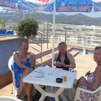 Kortspel i Peneda de Mar