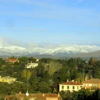 Guadarramabergen den 1 december