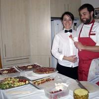 Den fantastiska cateringpersonalen